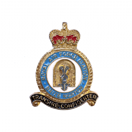 Royal Air Force RAF Station Brize Norton Lapel Badge